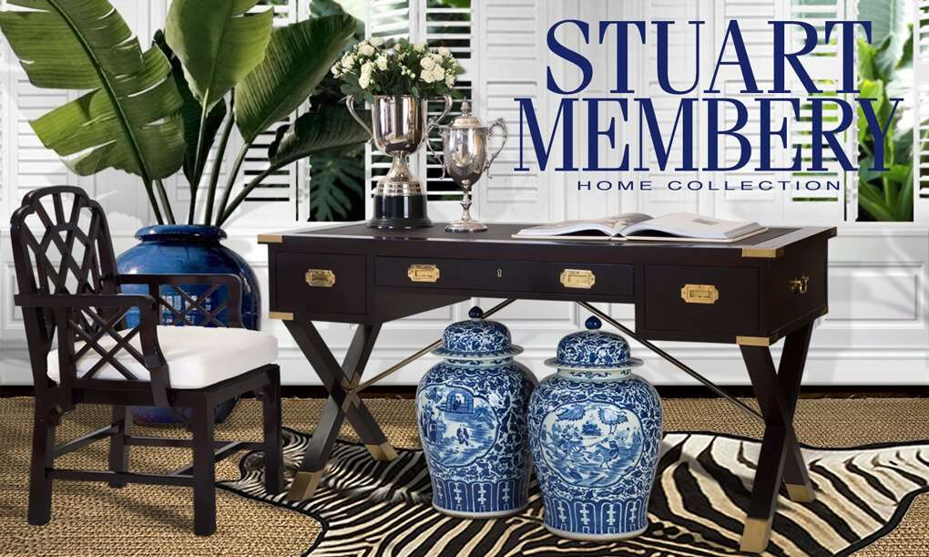 PLANTATION LIVING - STUART MEMBERY HOME COLLECTION