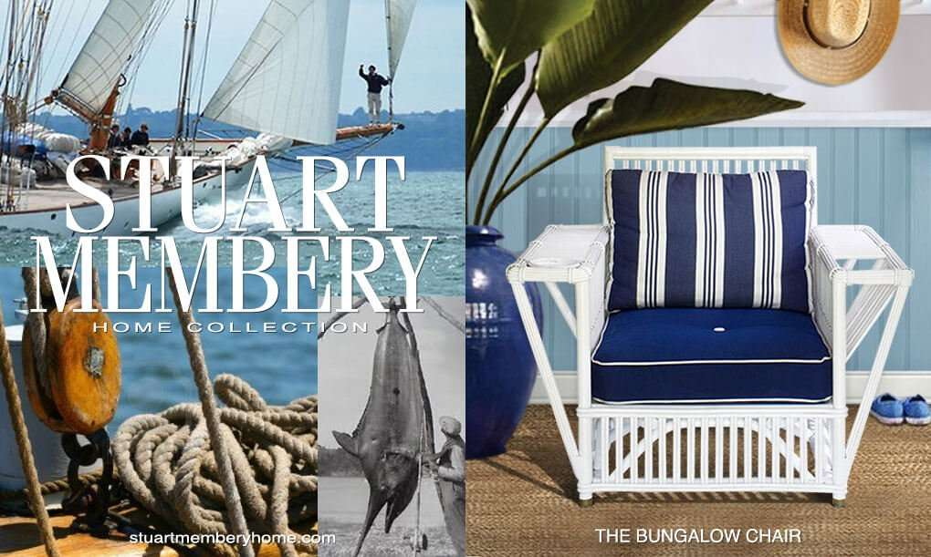 THE BUNGALOW CHAIR - STUART MEMBERY HOME COLLECTION