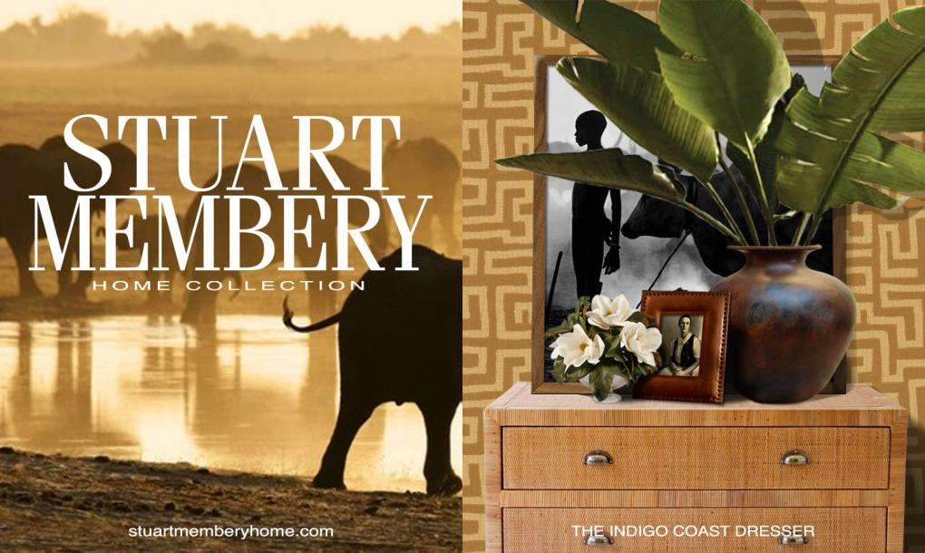 THE INDIGO COAST DRESSER - STUART MEMBERY HOME COLLECTION