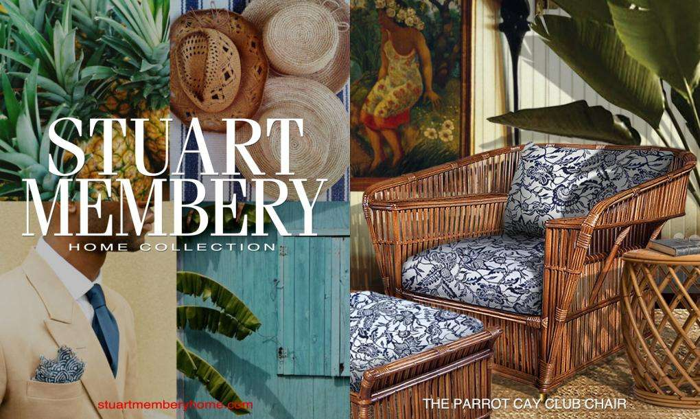 THE PARROT CAY - STUART MEMBERY HOME COLLECTION